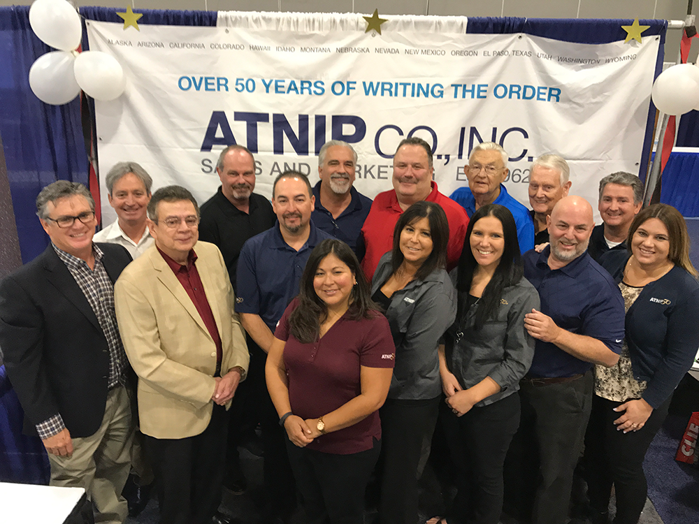 Atnip sales team group picture