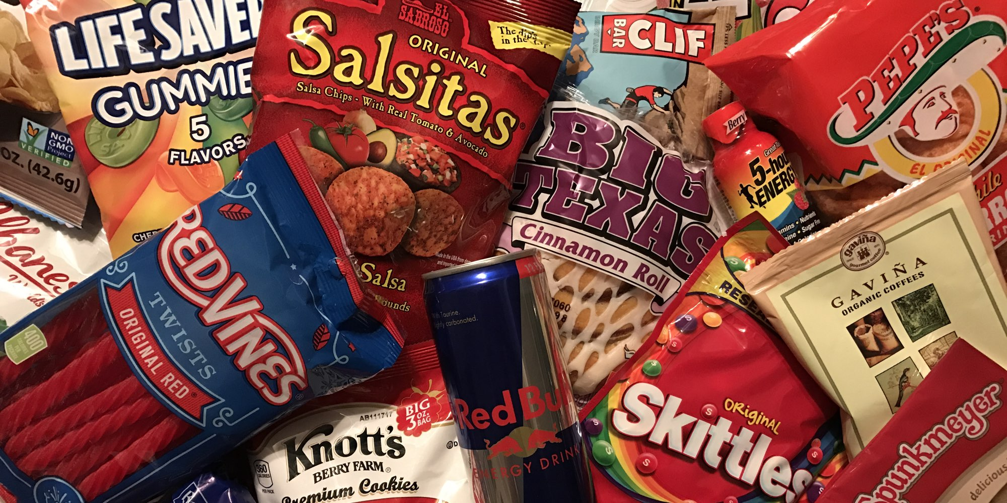 Assorted snacks picture